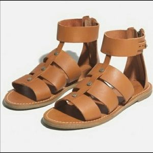 Madewell VEUC gladiator sandals worn once